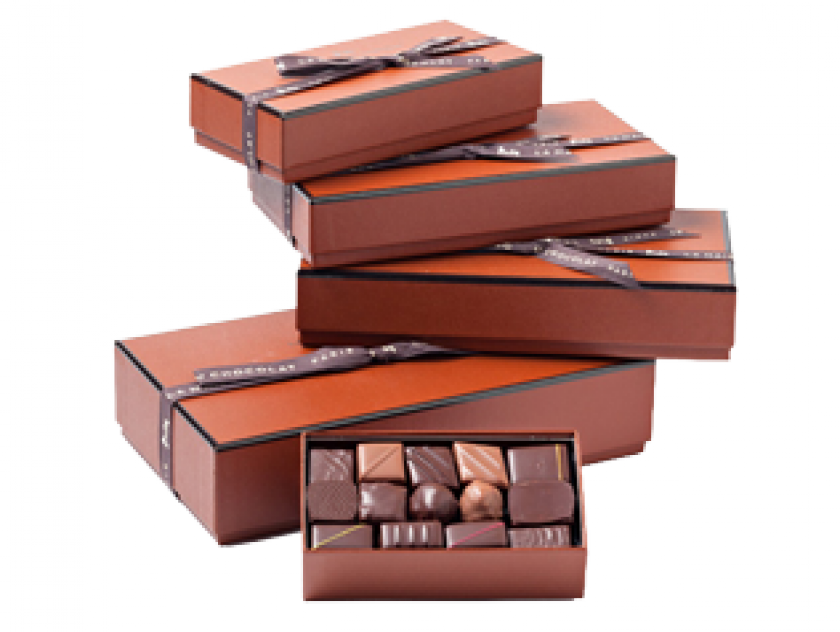 Coffret Maison chocolat noir et lait - Idés cadeau d'affaire - La Maison du Chocolat