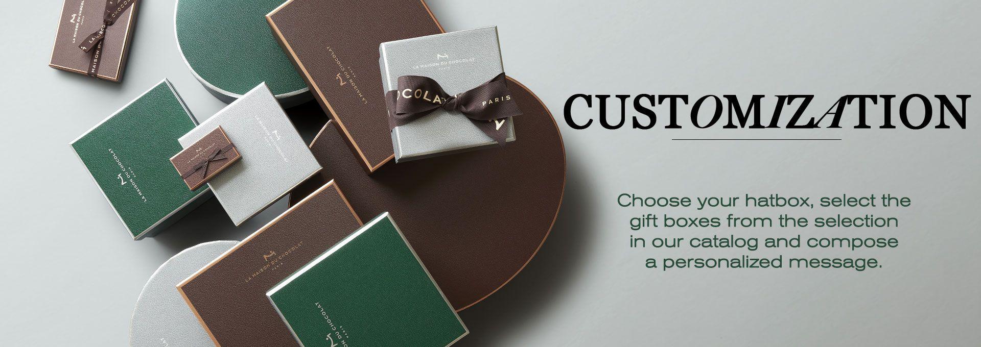 Customization - La Maison du Chocolat