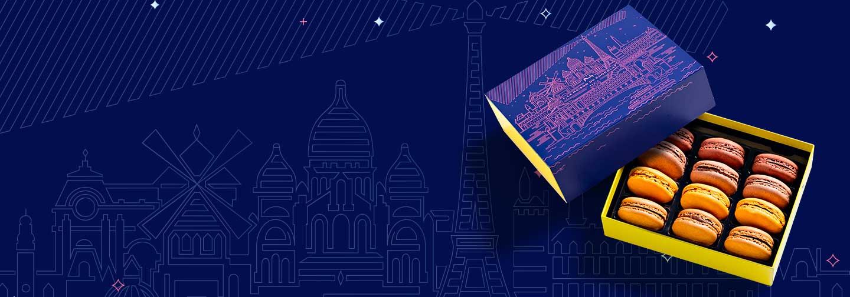 Pâtisseries Paris à l'heure bleue