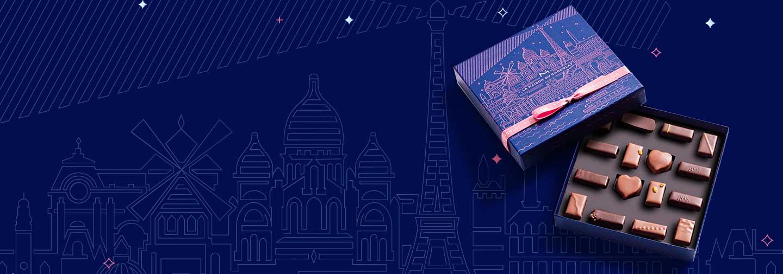 Coffrets Paris à l'heure bleue