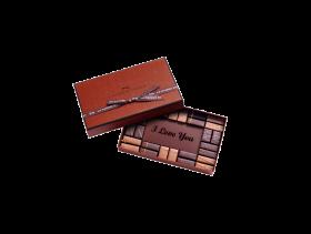 """I Love You"" Coffret Maison 28 Assorted Chocolates"