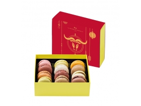 Ox New Year Macarons 12 Pieces