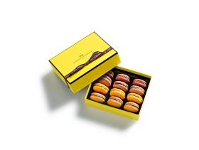 Coffret Macarons 12 pièces