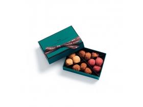 Coffret Truffes Chocolat Cassis Caramel 12 pièces