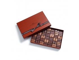 Coffret Maison Noir et Lait 84 chocolats