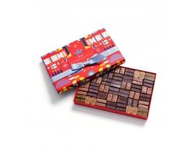 Coffret Maison Cracker Noir et Lait 84 Chocolats