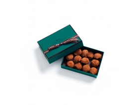 Plain Dark Truffle Gift Box 13 Pieces