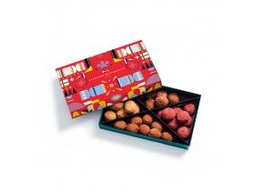 Coffret Truffes Cracker Cassis Caramel 35 pièces