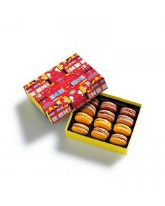 Coffret  macarons Cracker 12 pièces