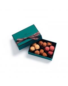 Coffret Truffes Chocolat Cassis Caramel 84g