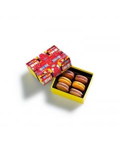Coffret  macarons Cracker 6 pièces