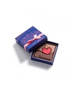 """Coffret Bouchée """"L'Heure Bleue"""" 4 chocolats"""