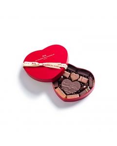Coffret Cœur 14 chocolats