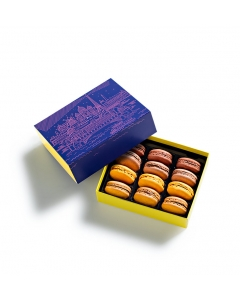The Blue Hour Macarons Gift Box 12 pieces