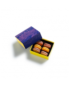 The Blue Hour Macarons Gift Box 6 pieces