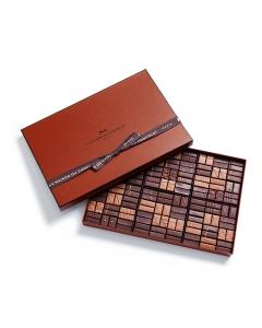 Coffret Maison Noir et Lait 144 chocolats