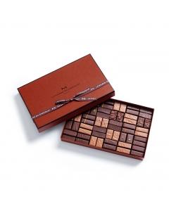 Coffret Maison Noir et Lait 60 chocolats