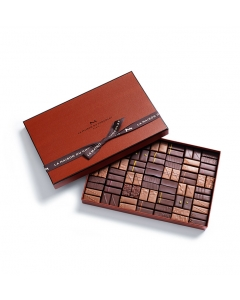 Coffret Maison Dark and Milk 84 chocolates