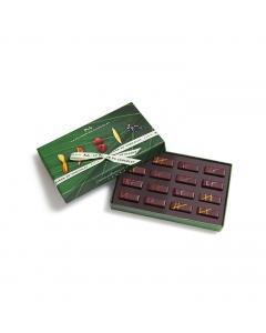 Fruit Naturally gift box 16 vegan chocolates