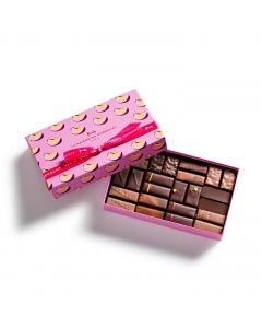 Coffret Passionnément Pêche 24 chocolats