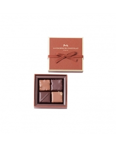 Milk Chocolate Praliné Gift Box 4 pieces