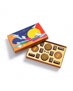 Colorful Moon Gift Box 14 Chocolates