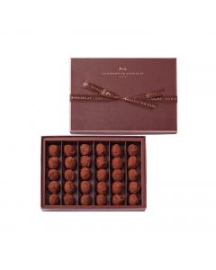 Truffes chocolat nature 30 pièces