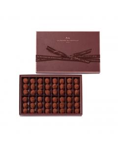 Plain Dark Chocolate Truffles 48 pieces