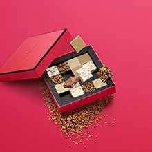 Composition coffret chocolats - La Maison du Chocolat