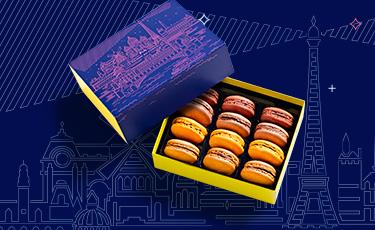 Coffret Macarons Saint Valentin - La Maison du Chocolat