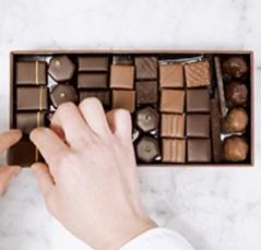 Composition coffret chocolat - La Maison du Chocolat