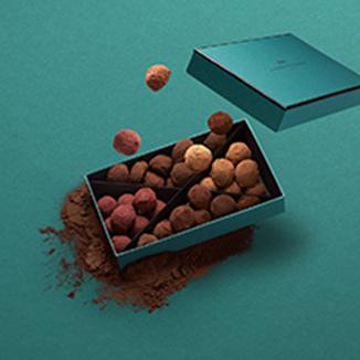 Décoration coffret - La Maison du Chocolat