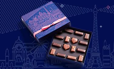 Coffret Thématique Heure Bleue - La Maison du Chocolat